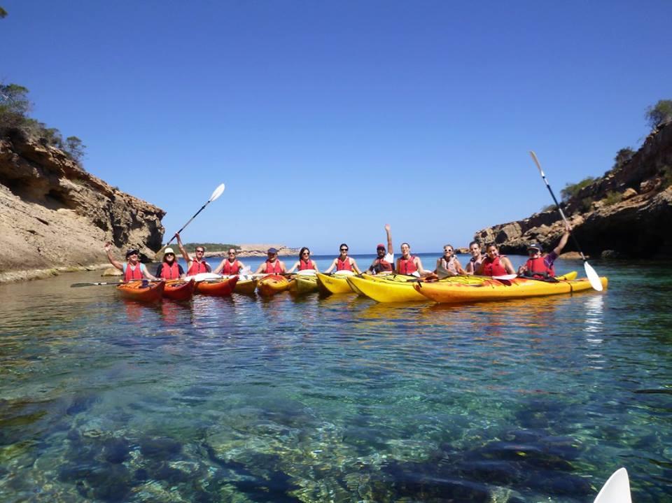 group kayak