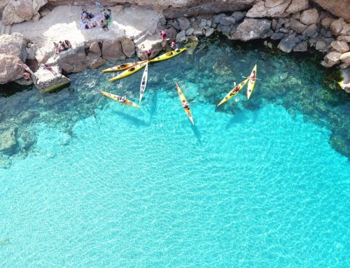 Cala Comte Kayak Excursion