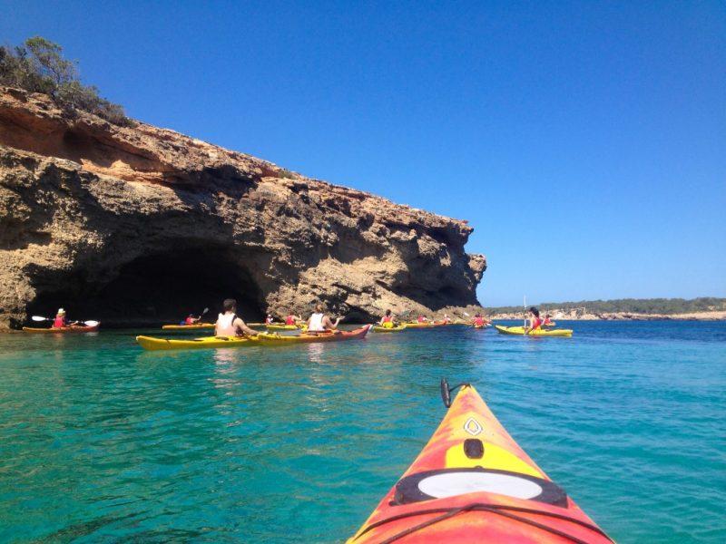 kayaking ibiza